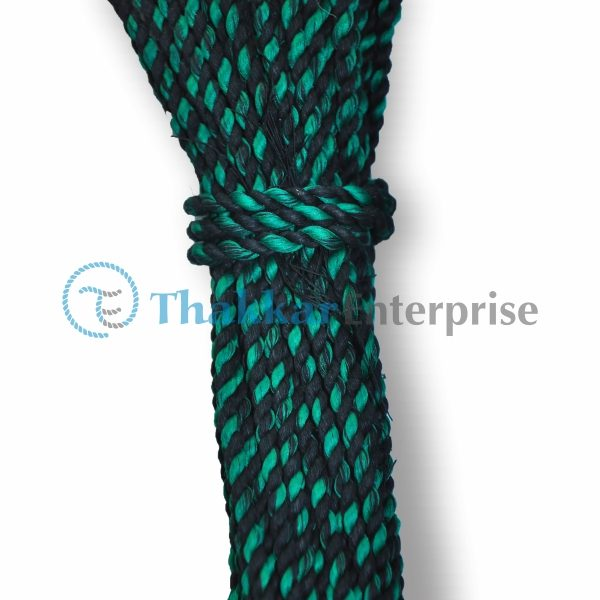 Blue Waste Cotton Rope – 3 mm to 4 mm Lank Packing