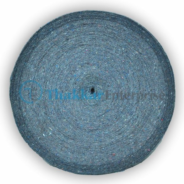 Grey Cotton Tape Niwar – 2.5 inch Cotton Tape Niwar