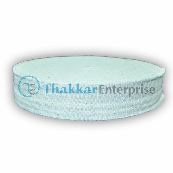 White Cotton Tape Niwar – 2.5 inch Cotton Tape Niwar (3)