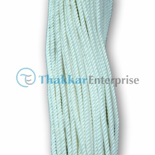 White Polyester Rope – 1 mm to 4 mm Hank Packing